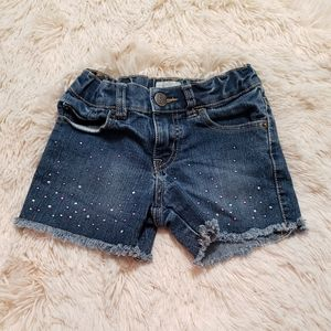 Children's place jean shorts 6x/7